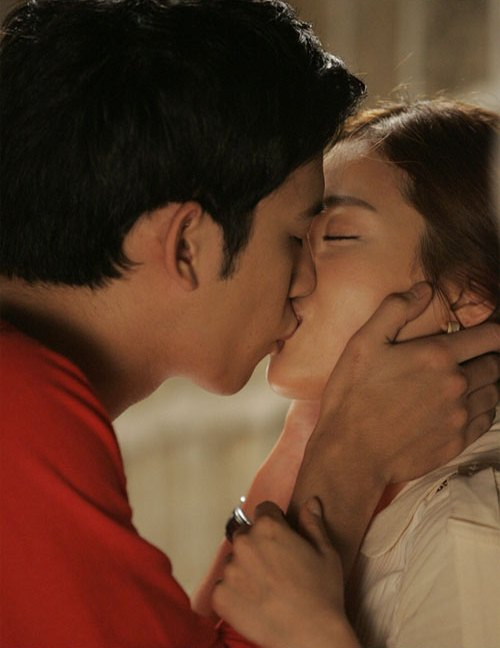 Kiss of Park Ki Woong and Ki Eun Se