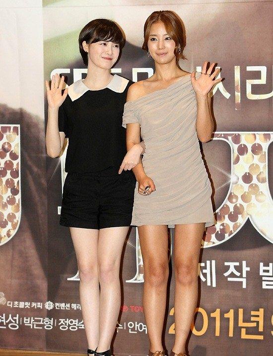 Goo Hye Sun and Ki Eun Sae