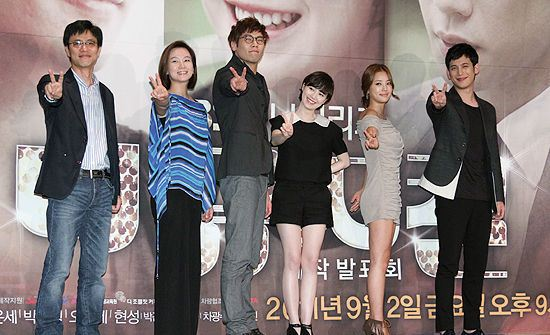 Main Actors at The Musical Press Conference