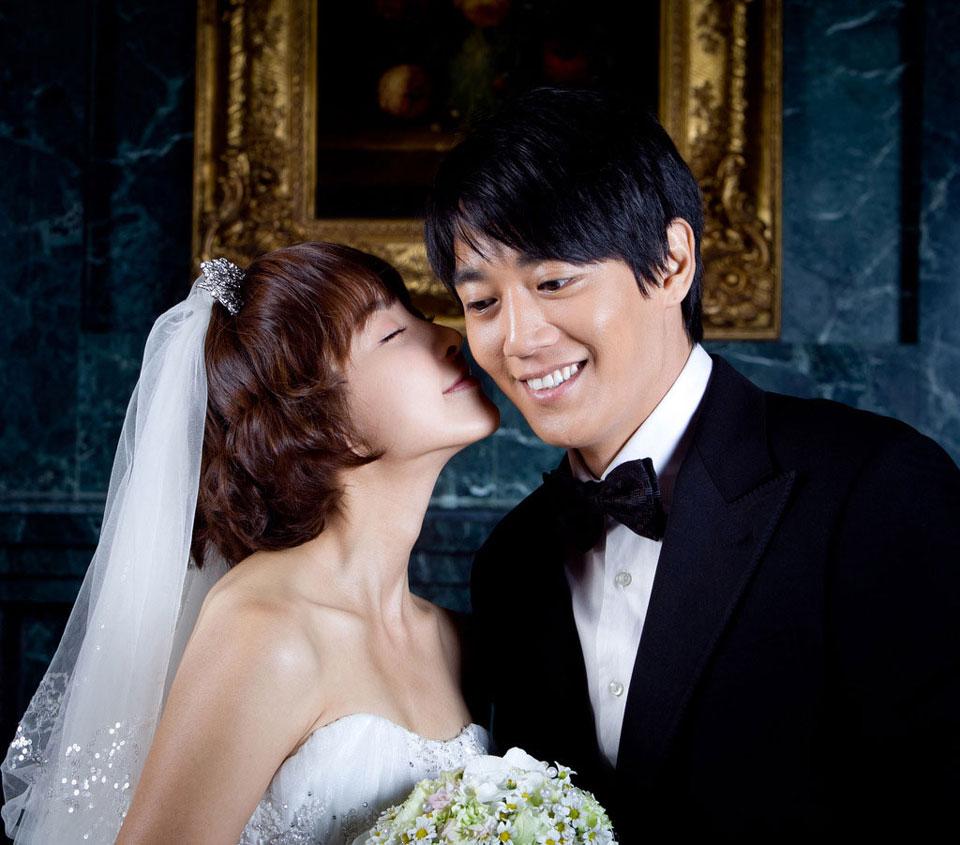 Kim Rae Won And Jung Yu Mi In Wedding Dress Photos Drama Haven