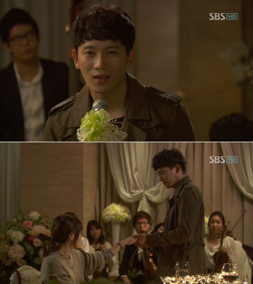 Ji Sung Proposes to Choi Kang Hee