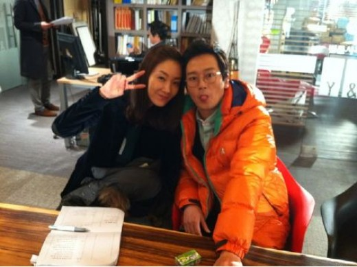 Choi Ji Woo and Kim Jung Tae