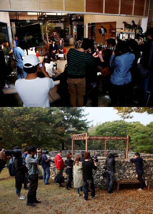 Japan Media Visits Can't Live with Losing's Yoon Sang Hyung and Choi Ji Woo