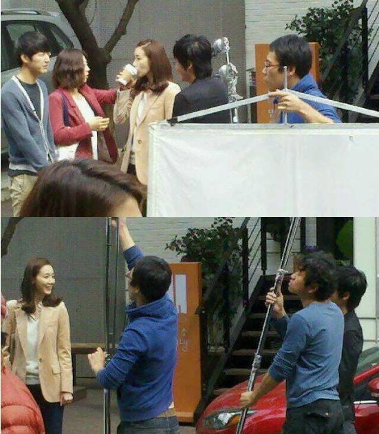 Um Ki Joon Behind the Scene Filming for Can't Lose