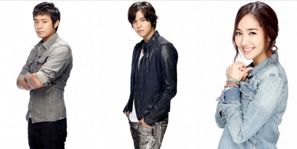 Chun Jung Myung, Lee Jang Woo and Park Min Young
