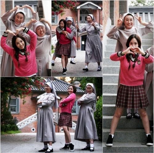 Park Min Young in School Uniform