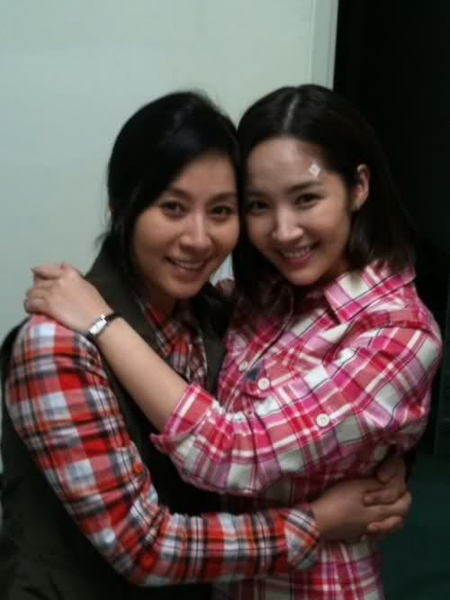 Choi Myung Gil and Park Min Young
