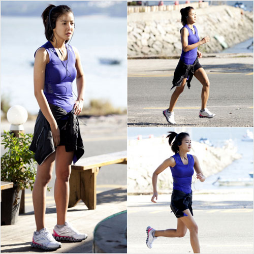 Lee Si Young Jog