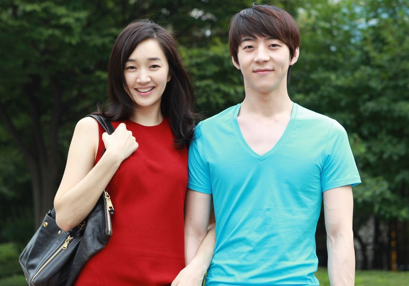 Park Yoo Wan and Soo Ae