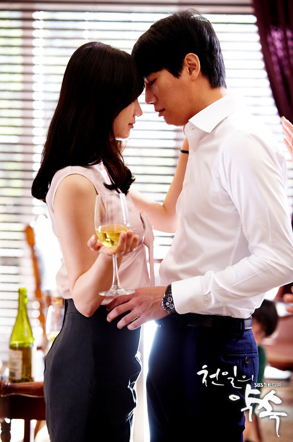 Kim Rae Won and Soo Ae Passionate Kiss