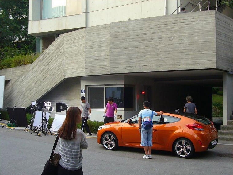 Photo from Initial Early Filming Scene