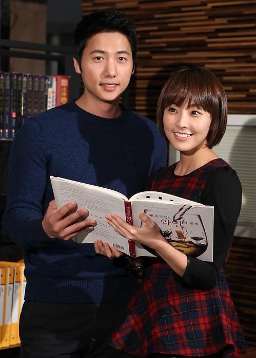 Lee Sang Woo and Jung Yoo Mi