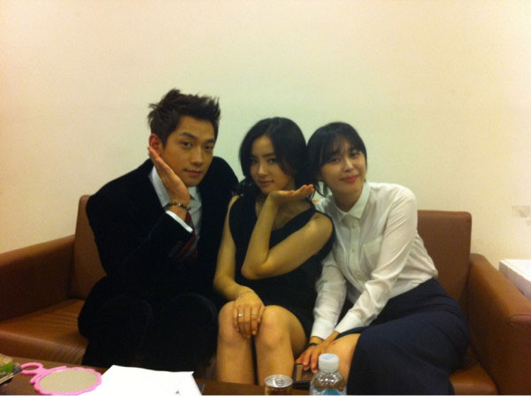 Rain, Shin Se Kyung and Lee Ha Na