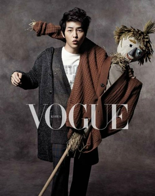 Song Joong Ki Vague Photoshot