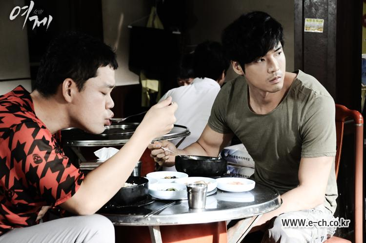 Kang Ji Sub and Lee Dong Hoon