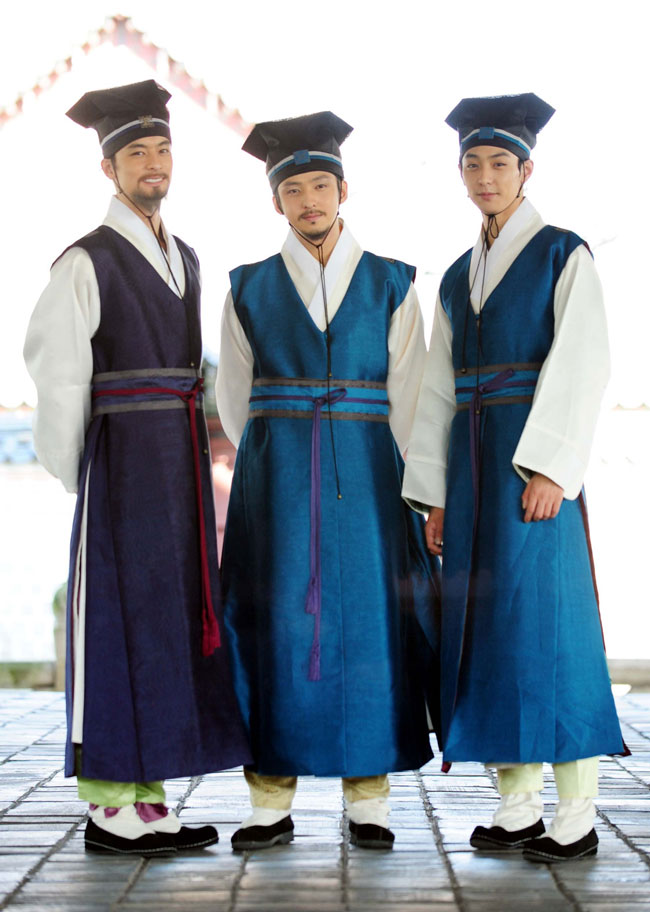 Kim Ki Bum, Hyun Woo and Jeon Jae Ho