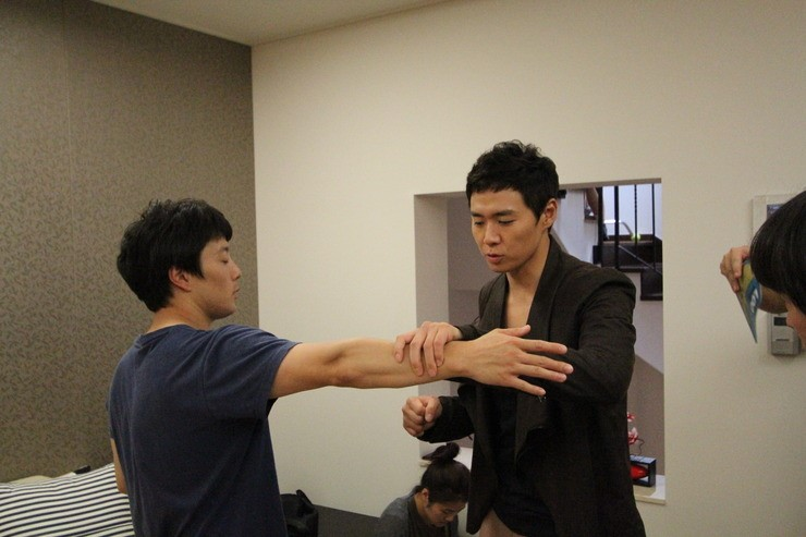 Yun Jung Hoon Behind the Scene