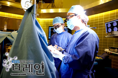 Scene of Brain Drama at Cheonha University Hospital