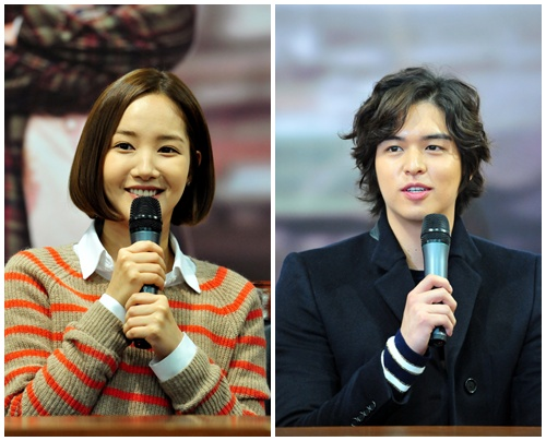 Park Min Young and Lee Jang Woo