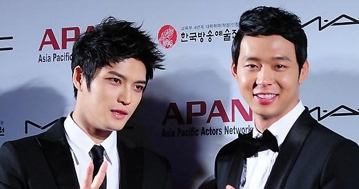 Hero Jaejoong and Mickey Yoochun