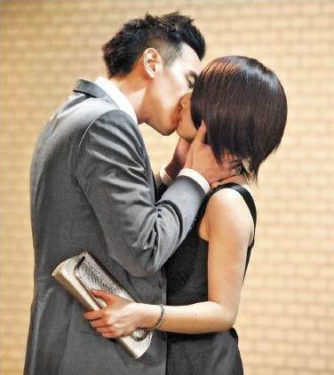 Ariel Lin Kiss Sunny Wang