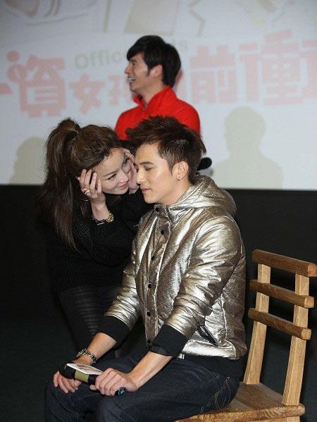 Roy Chiu Ze and Janel Tsai