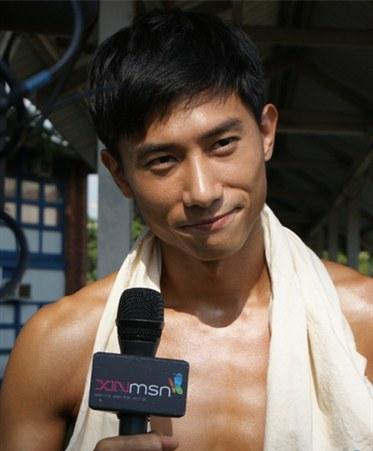 Desmond Tan Bare Chest Nude