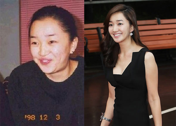 Old and Current Soo Ae