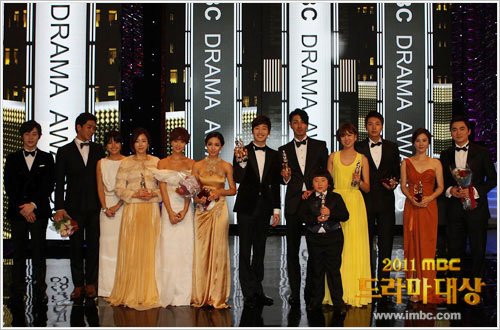 Winners of 2011 MBC Daesang Drama of the Year