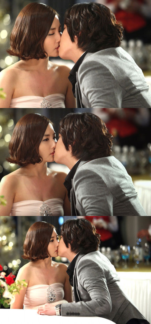 Park Min Young and Lee Jang Woo Kiss
