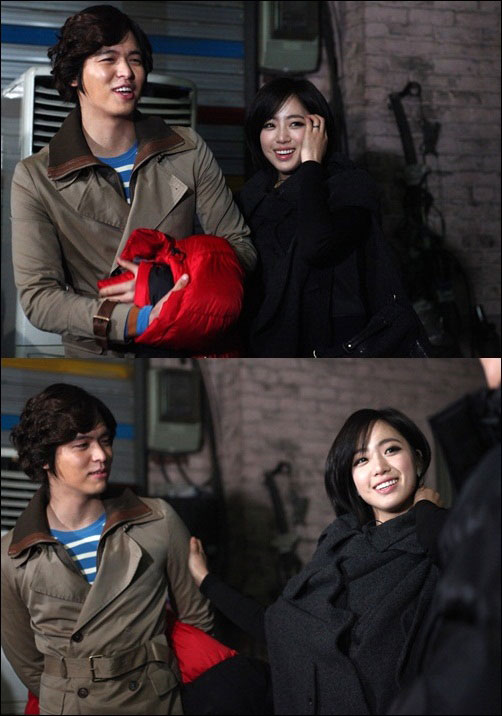 Lee Jang Woo and Ham Eun Jung