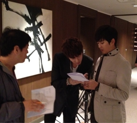 Park Kwang Hyun and Kim Hyung Joon