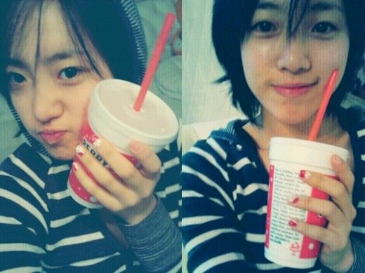 T'ara Ham Eun Jung without Makeup