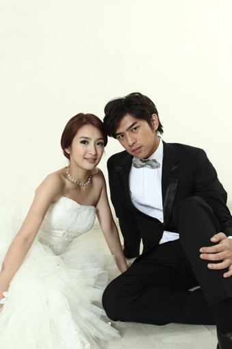 Ariel Lin and Bo-Lin Chen Wedding Photo