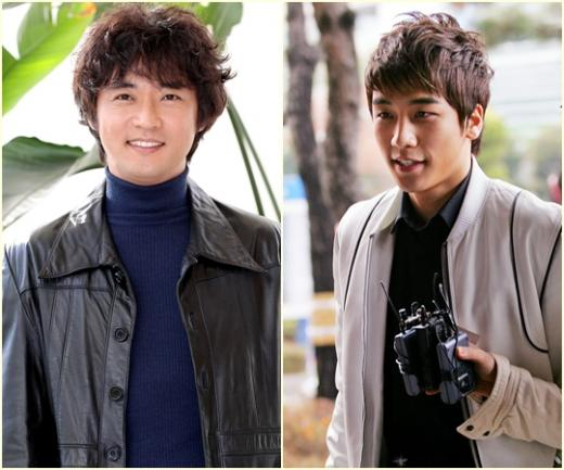 Ahn Jae Wook and Seungri