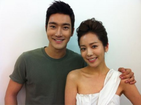 Choi Si Won and Han Ji MIn