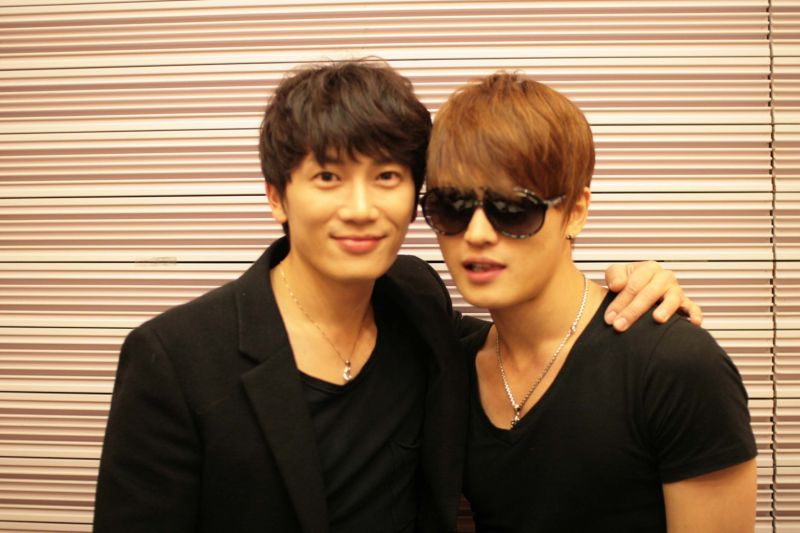 Ji Sung and Kim Jae Joong