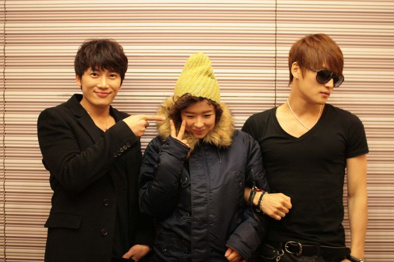 Ji Sung, Choi Kang Hee and Kim Jae Joong