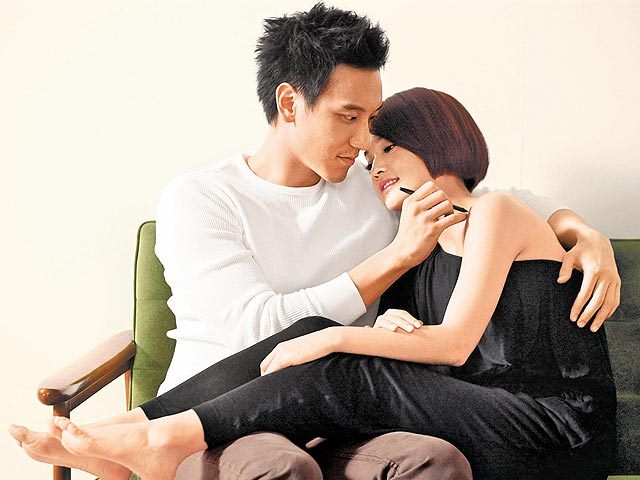 Rainie Yang and Sunny Wang