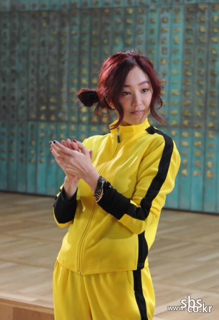Jung Ryeo Won in Kungfu Suit