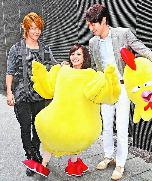 Skip Beat! Behind the Scene of Chicken Suit
