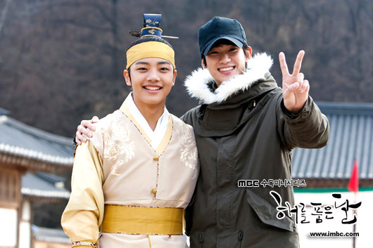 Kim Soo Hyun and Yeo Jin Goo