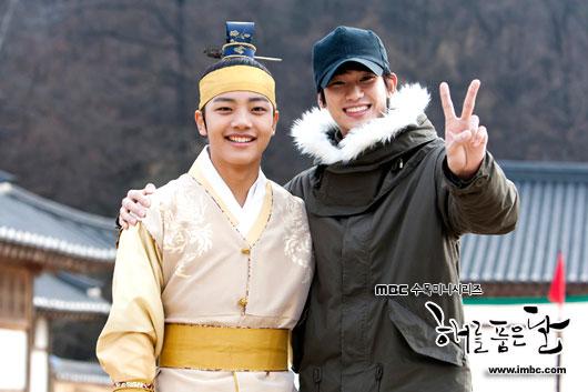 Kim Soo Hyun and Yeo Jin Goo