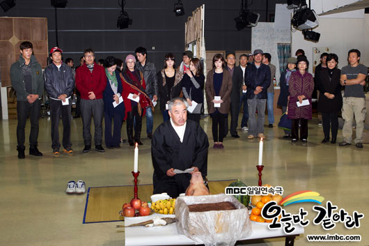 Blessing and Praying Ceremony