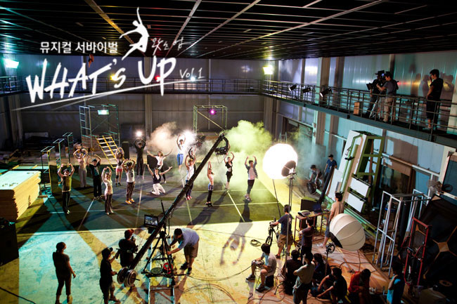 Behind the Scene of What's Up