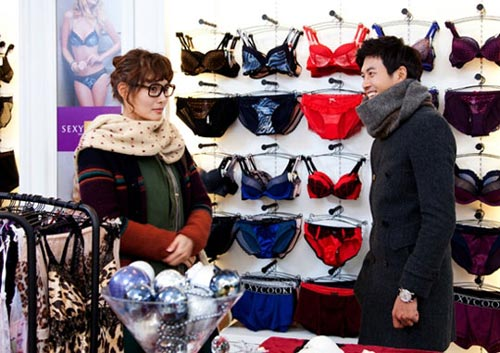Yoon Soy and Jae Hee Lingerie Date