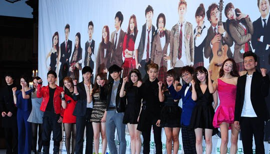 All Cast Members of Dream High 2 at Press Conference