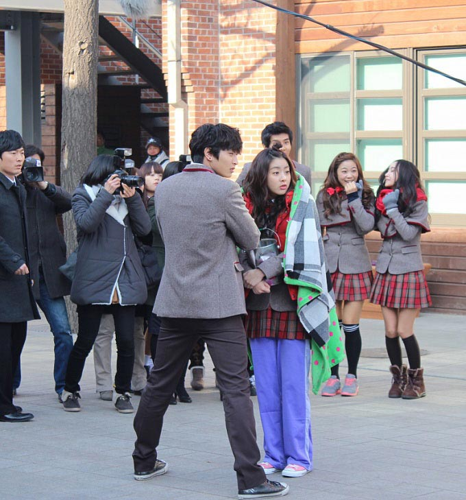 Dream High 2 Behind the Scene - Jin Won and So Ra