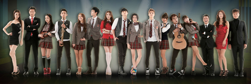 Dream High 2 Casts Styling