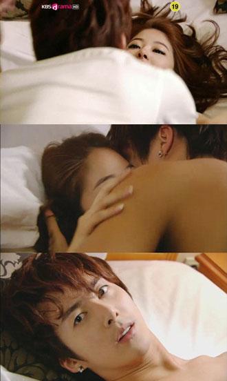 Kim Hyung Joon and Sung Hyo Bin Bed Scene